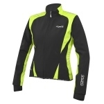 Bunda FORCE X71 LADY softshell, černo-fluo