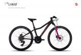 GHOST Lanao Kid 4 24 Disc black/pink/blue
