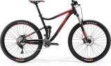 MERIDA ONE-TWENTY XT EDITION Matt Black(Red) 2017