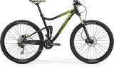 MERIDA ONE-TWENTY 500 Matt Black(Green) 2017