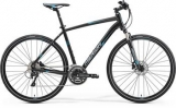 MERIDA CROSSWAY 500 Matt Black(Blue/Grey) 2017