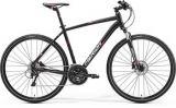 MERIDA  CROSSWAY 600 Matt Black(Red/White) 2017