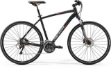 MERIDA CROSSWAY 300 Matt Black(Signal Red/Grey) 2017