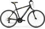 MERIDA CROSSWAY 15-V Matt Black(Yellow/Grey) 2017