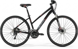 MERIDA CROSSWAY 300-LADY Matt Black(Signal Red/Grey)2017