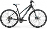 MERIDA  CROSSWAY 500-LADY Matt Black(Blue/Grey)2017