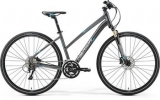 MERIDA  CROSSWAY XT EDITION-LADY Matt Anthracite(Blue/Silver)2017