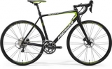 MERIDA SCULTURA DISC 500 Matt Black/Green 2017