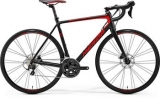 MERIDA  SCULTURA DISC 400 Matt Black/Red 2017
