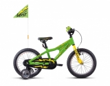 GHOST Powerkid 16 green/yellow/black 2018