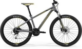 MERIDA BIG.SEVEN 100 Matt Grey(Yellow/Dark Grey)2018