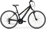 MERIDA  CROSSWAY 15-V Lady Matt Black(Yellow/Grey)2018
