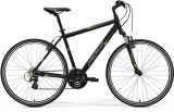 MERIDA  CROSSWAY 15-V Matt Black(Yellow/Grey)2018