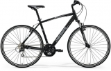 MERIDA  CROSSWAY 20-V Matt Black(White/Grey)2018