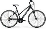 MERIDA CROSSWAY 20-V Lady Matt Black(White/Grey)2018
