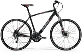 MERIDA CROSSWAY 40-D Matt Black(Red/Grey)2018