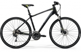MERIDA CROSSWAY 300 Matts Black(Green/Grey)2018