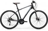 MERIDA CROSSWAY 600 Matt Dark Grey(Red/Silver Gry)2018