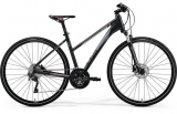 MERIDA CROSSWAY 600 Lady Matt Dark Grey(Red/Silver Gry)2018