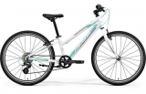 MERIDA MATTS J.24 RACE Pearl White(Purple/Teal)2018