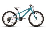 SUPERIOR Racer XC 20 Gloss Petrol Blue/Black/Neon Red mod.018