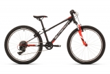 SUPERIOR Racer XC 24 Gloss Black/White/Neon Red mod.018