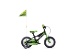 GHOST Powerkid 12 - Black / Green