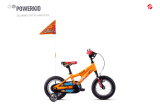 GHOST Powerkid 12 - Orange / Red