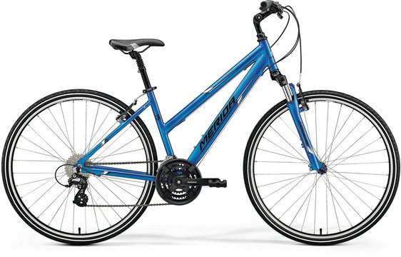 MERIDA CROSSWAY 15-V Lady Blue(White/Black)2018